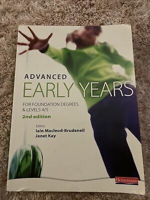 £19.90 • Buy Advanced Early Years 2nd Edition