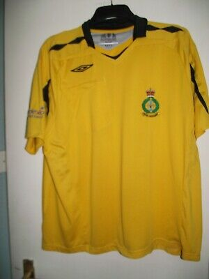 £4.99 • Buy British Forces Cyprus Football Referees Shirt Size Xxl Good Cond