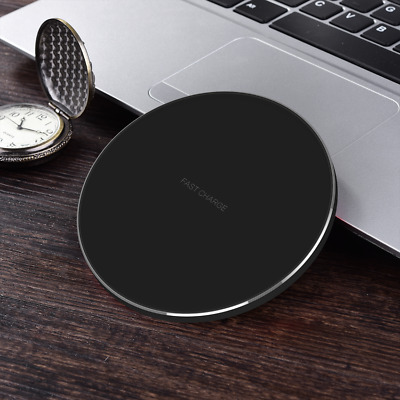 $ CDN9.95 • Buy Qi Mini Charger Fast Wireless Power Charging Pad Universal For IPhone Samsung