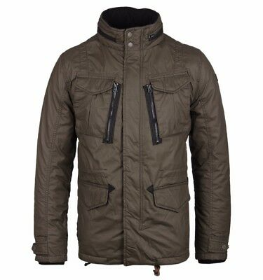 $183.33 • Buy Schott NYC Olive Khaki Quilted M65 Troop Utility Field Jacket Parka Small Slim
