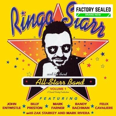 £11.99 • Buy Ringo Starr And His Third All-Starr Band Volume 1 CD NEW