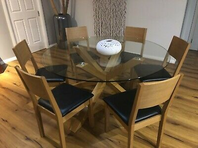 AU350 • Buy Dining Table & 6 X Chairs (Freedom)