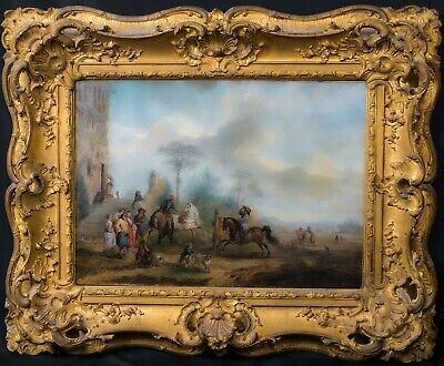 £4500 • Buy Large 17th Century Dutch Hunting Party Landscape Philips WOUWERMAN (1619-1668)