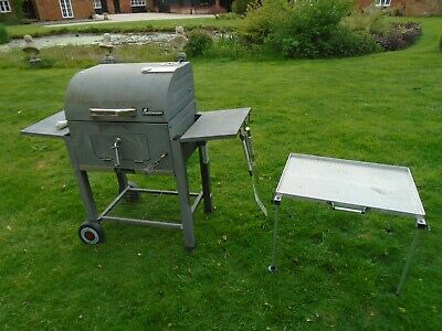 £49 • Buy DELUXE LANDMANN BBQ Bundle Grill Charcoal Portable Grill, Table And Tools