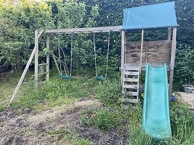 £100 • Buy Wooden Climbing Frame With Slide