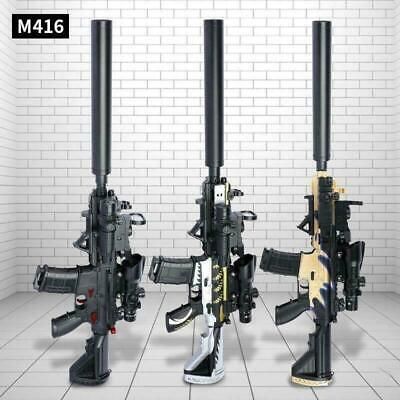 $75.89 • Buy New M416 Electric Rifle Blaster Toy Gun Water Bullet Crystal For Kids - Gift