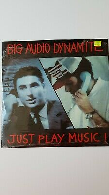 £3.50 • Buy BIG AUDIO DYNAMITE Just Play Music 12  VINYL 1988 2 Track Extended Mix