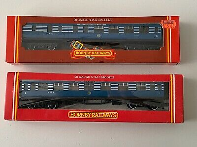 £45 • Buy (158) Pair Of Hornby Blue Coronation Scot Coaches R422 And R423