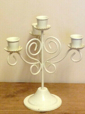 £4.50 • Buy  VINTAGE STYLE (4 Stand) WROUGHT IRON CANDLE HOLDER