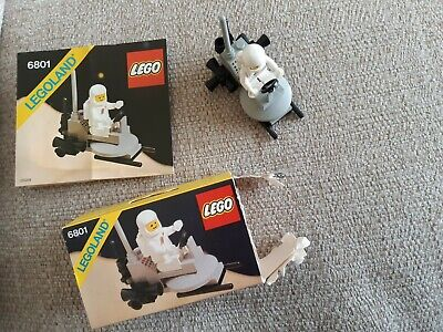 £1.20 • Buy LEGO Classic Space 6801 Vintage 1981 *Complete With Box & Instructions*