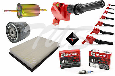 $168.88 • Buy Tune Up Kit 2010 Lincoln Town Car 4.6L High Performance Ignition Coil DG508
