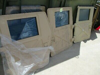 $1999 • Buy 3 X Doors For HMMWV M1151 Or M1114 ONLY, Will NOT Fit A M998, M1113 M1123 Etc.