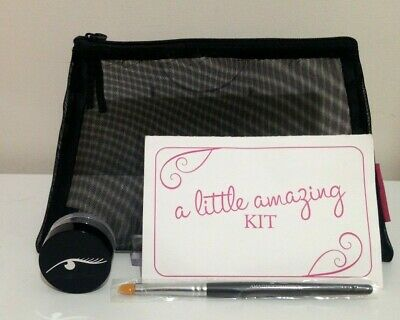£3 • Buy Amazing Cosmetics - Make Up Bag, Concealer Brush And Pot - New