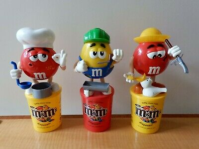 £14.50 • Buy Collectable, Empty, M&M Minis Sweet/Chocolate Candy Dispenser RED CHEF From 2008