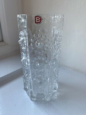 £6 • Buy FRANK THROWER DARTINGTON CLEAR GLASS FT95 NIPPLE / With Sticker