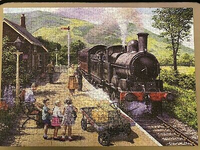 £1.40 • Buy Gibsons 1000 Piece Jigsaw All Aboard To Keswick. *Complete*