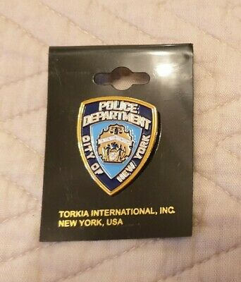 £7.50 • Buy City Of New York Police Department Pin Badge NEW