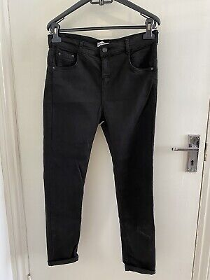 £7 • Buy Pull And Bear Black Skinny Jeans