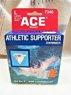 £14.19 • Buy Vtg 1981 Ace Athletic Supporter 7346~jock Strap~for Swimmers~in Box~nos Unused