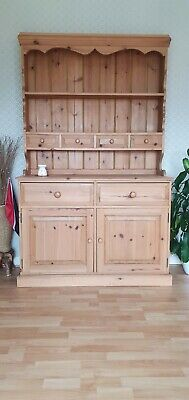 £40 • Buy Real Solid Pine 4 Drawer Welsh Dresser Collection Only