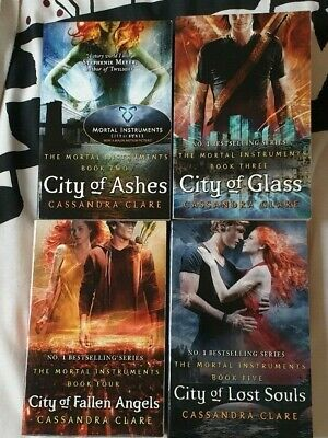 £8 • Buy The Mortal Instruments 4-book Bundle By Cassandra Clare Shadowhunters Paperback