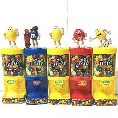 $49.99 • Buy Lot Of 5 M&M Sweet & Fun Candy Dispenser Figurine Collectible Character # 1