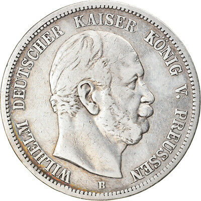$ CDN72 • Buy [#896313] Coin, German States, PRUSSIA, Wilhelm I, 5 Mark, 1875, Hannover