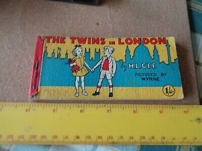 £4.99 • Buy The Twins In London By H L Gee. Pictured By Wynne. Vintage Childs Story Book