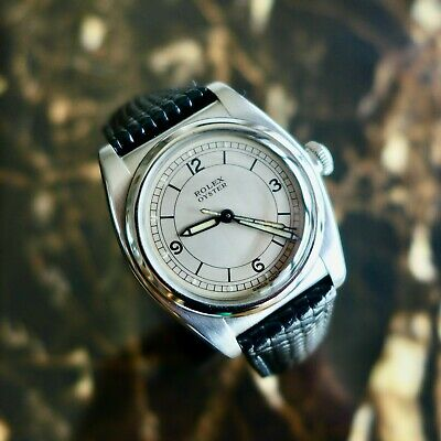 $ CDN4727.02 • Buy A BEAUTIFUL & RARE VINTAGE 1930s ROLEX OYSTER WITH  SCIENTIFIC  TYPE CASE & DIAL
