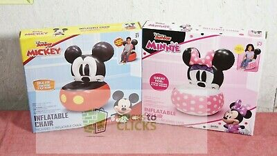 £18.10 • Buy Disney Junior Mickey & Minnie Mouse Inflatable Chair Lot X2