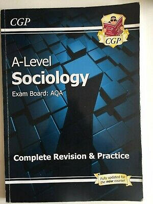 £0.99 • Buy A-Level Sociology: AQA Complete Revision & Practice By CGP Books