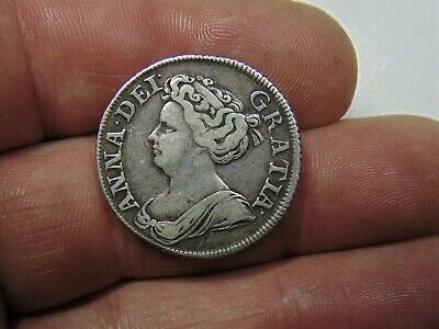 £96.99 • Buy Very Nice 1711  Queen Anne Shilling.