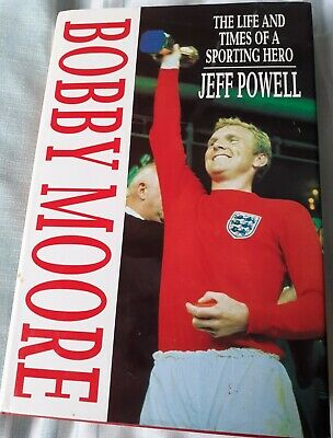 £99 • Buy Bobby Moore Biography With Genuine Signed Book Insert World Cup 1966 - FREEPOST.