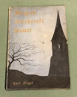 £19.99 • Buy Magick Witchcraft Power By Carl Nagel Finbarr Books Softcover