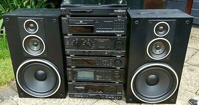 £499 • Buy Sony LBT-D905CD Hi-Fi Vintage Stereo Stack System LCD Remote