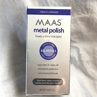 $18.50 • Buy New MAAS Metal Polish All Metals French Lavender 2 Oz Tube MULTIPLE AVAILABLE