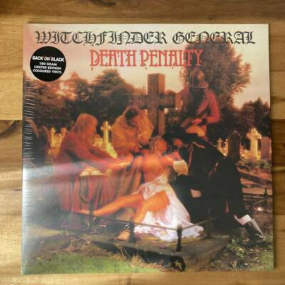 £77.74 • Buy Witchfinder General Death Penalty Limited Color Board Analog Lp Records Heavy