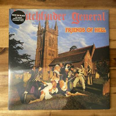 £77.74 • Buy Witchfinder General Friends Of Hell Limited Color Board Analog Lp Records Heavy