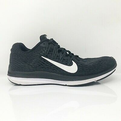 $ CDN63.02 • Buy Nike Womens Zoom Winflo 5 AA7414-001 Black Running Shoes Lace Up Low Top Size 7