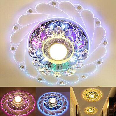 £13.99 • Buy LED Ceiling Lights Round Panel Down Light Kitchen Bedroom Living Room Wall Lamp