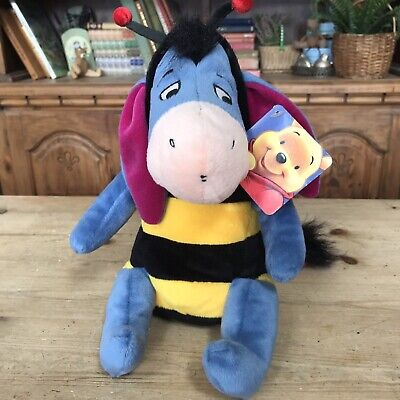 £12.95 • Buy  Eeyore Disney Plush Bumble Bee Costume 10  Soft Toy Vivid Imagination With Tag