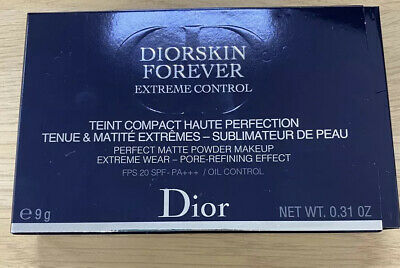 £30 • Buy Dior Diorskin Forever Extreme Control Matte Powder Compact Genuine 010 Ivory New
