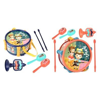 £7.49 • Buy Children Drum Trumpet Toy Music Percussion Kit Baby Early Learning C3Y7