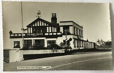 £2.99 • Buy Vintage Rp Postcard.the Boat House Cafe, Parkgate, Neston In Cheshire.