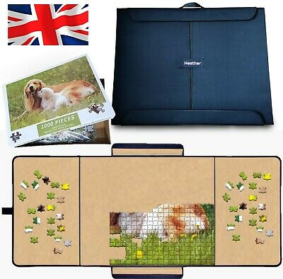 £19.95 • Buy Heather UK Jigsaw Board Portable Foldable Puzzle Mat With Free 1000 Piece Jigsaw