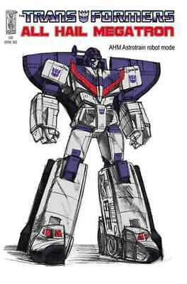 £22.50 • Buy Transformers All Hail Megatron (2008) #   3 Cover C (9.2-NM) Retailer Incentive