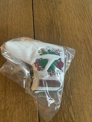 £42.47 • Buy New TaylorMade 2021 Season Opener Masters Golf Blade Putter Cover Headcover