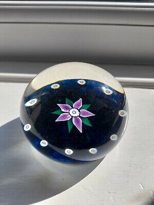 £11.50 • Buy Selkirk Glass Paperweight Hand Made In Scotland