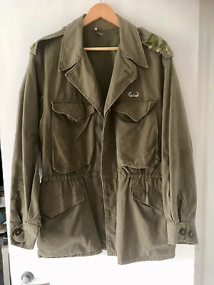 $131.16 • Buy US WW2 M-43 Jacket Glider Pilot, Band Of Brothers, Airborne, Repro Large