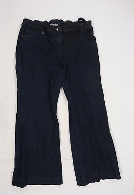 £8 • Buy Dorothy Perkins Womens Blue  Denim Flared Jeans Size 18 L31 In